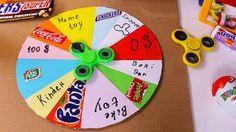 How To Make a PRIZE WHEEL - Cardboard diy prize wheel - YouTube