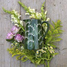 Lily of the Valley Farmhouse Jug #Weddinggift #personalisedgift