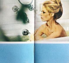 Brigitte Bardot bubble Bath. This book is amazement. Le Livre de Brigitte Bardot. 1971. Tall and super narrow format. Unusual. And the art… Brigitte Bardot, Editorial Design, Art Direction, Bubble Bath, Amazing, Books, Instagram, Libros, Book