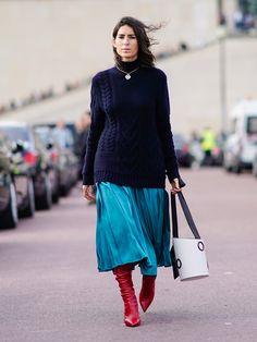 Maglione over e gonna midi: la fashion combo del momento | Stylight