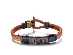 Leder-Armband Kupfer Armband Herren Men von WarmHeartHouse auf Etsy