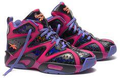 42fffe247a7 Reebok Classic Kamikaze I  Iridescent  Basketball Sneakers