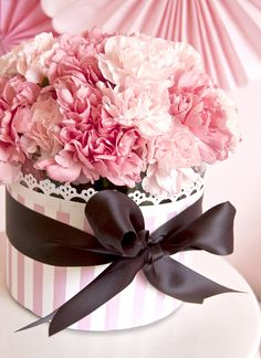 This Would be a Great Centerpiece/ cake design for a Bridal Shower or Baby Shower (Girl)