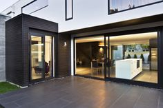 Indoor outdoor flow is a staple of this quality home.