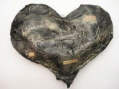 Jim Dine Puffy Heart Sculpture  Great instructions and quick Process!!