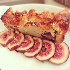 fig & fig bread pudding