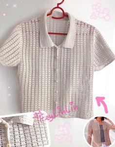 Жакет из японского журнала #FeyLinLin, #Jacket, #crochet,
