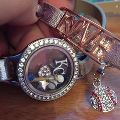 KC Royals wrap bracelet #KCRoyals #ForeverRoyal #Crowned #OrigamiOwl #MLB