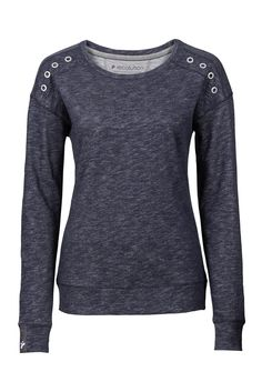 13e5e2f0552f recolution organic fairtrade Sweater Frauen grau gesprenkelt 100%  Biobaumwolle Baumwolle, Grau, Kleidung,