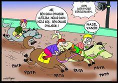 Altılı Ganyan Karikatürü Vacip Örger