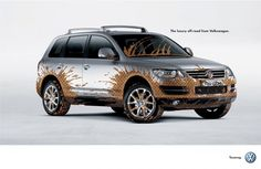 Volkswagen Touareg: Chic mud, Volkswagen Touareg, Almap/bbdo, Volkswagen, Print, Outdoor, Ads