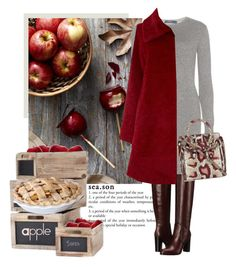 """""""Apple season"""" by a-vigh ❤ liked on Polyvore featuring Sergio Rossi, Polo Ralph Lauren, MaxMara and Alexander McQueen"""