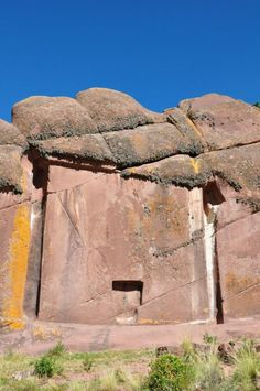 Known as Aramu Muru and located on lake Titicaca near the border with Bolivia, the flat stone is roughly 23-feet square, with a T-shaped alcove some 6 feet, 6 inches tall carved into it. What purpose the space once served is unknown, but the most likely explanation is that it was an abandoned Incan construction project.