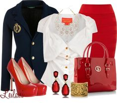 """""""Ruby red contest"""" by leilani-almazan ❤ liked on Polyvore"""