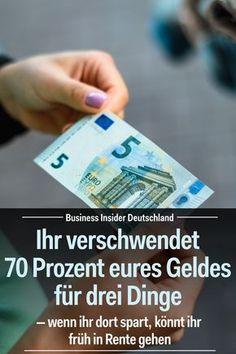 Geld sparen bringt nichts? Von wegen! Wenn ihr in drei Kategorien mehr auf euer Geld achtet, könnt ihr den Rest eures Lebens gut von dem Geld leben. Artikel: BI Deutschland Foto: Shutterstock/BI