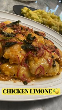 Turkey Recipes, New Recipes, Chicken Recipes, Dinner Recipes, Cooking Recipes, Favorite Recipes, Dinner Dishes, Food Dishes, Chicken Limone