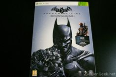 [Unboxing] Batman Arkham Origins Collector