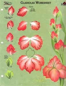 348 En Iyi çiçek Boyama Görüntüsü One Stroke Painting Tole