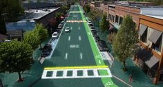 Solar Roadways will not only be able to charge electronic cars, but will also pay for themselves, generating enough electricity to power homes and businesses connected through nearby driveways and parking lots.