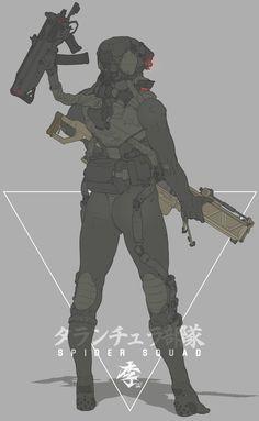 Glow eye by obokhan on DeviantArt Cyberpunk Character, Cyberpunk Art, Robot Concept Art, Armor Concept, Character Concept, Character Art, Sci Fi Armor, Future Soldier, Sci Fi Characters