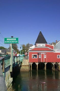 Kennebunkport, Maine - loved this area! Good food & artsy plus the beach & gorgeous weather!
