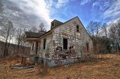 Goodbye Engineer's House | near Sykesville, MD (pinned by haw-creek.com)