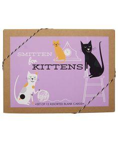 Smitten for Kittens Boxed Card Set #LibertyStationery