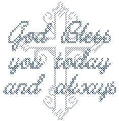 A personal favorite from my Etsy shop https://www.etsy.com/listing/263563649/modern-religious-cross-stitch-pattern