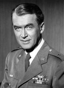james stewart served our country in military!