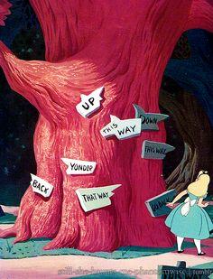 Alice's Wonderland Ch. 1 Down The Rabbit Hole| Serafini Amelia| I wonder which way I ought to go…