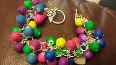 Check out this item in my Etsy shop https://www.etsy.com/listing/214815440/bright-colourful-beaded-cluster-bracelet