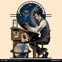 Daydreaming Doctor T-Shirt $10 Doctor Who tee at RIPT today only!