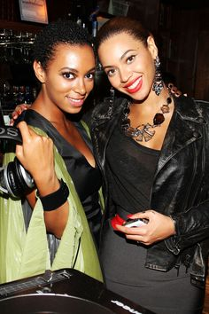 Chic Siblings   Solange and Beyonce Knowles