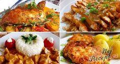 12 skvělých receptů, díky kterým už budete vědět co navařit na neděli! Borscht Soup, Appetizer Plates, Seafood Dishes, Tasty Dishes, Tandoori Chicken, Food Videos, Breakfast Recipes, Main Dishes, Vitamins