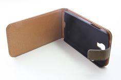 Θήκη Δερμάτινη Flip Case - Μουσταρδί (Samsung s4) - myThiki.gr - Θήκες Κινητών-Αξεσουάρ για Smartphones και Tablets - Χρώμα μουσταρδί