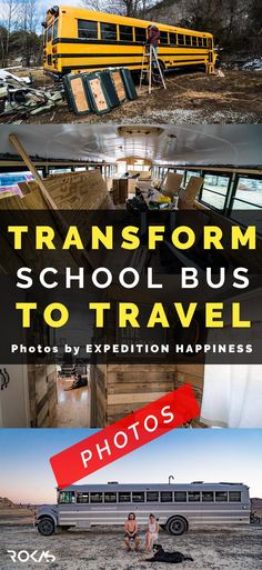 Couple transforms old school bus to travel North America. This house on the wheels is all about adventure and simple life. Photos are made by EXPEDITION HAPPINESS you can follow them on online links inside the article. Don't forget to repin this pin because its really important to us, thanks for your support.