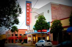 Ocala's Marion Theatre Ocala Florida, Theatre, Neon Signs, History, Historia, Theatres, Theater