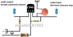 Tone Control sederhana tapi mampu menghasilkan audio HiFi | guruKATRO Electronics Basics, Electronic Schematics, Audio Amplifier, Car Audio, Communication, Technology, Crossover, Layout, Store