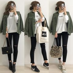 Tomboy Fashion, Look Fashion, Fashion Pants, Casual Fall Outfits, Winter Fashion Outfits, Cool Outfits, Korea Fashion, Japan Fashion, Pakistani Fashion Casual