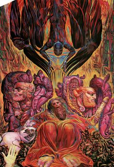 Incredible Artwork. Ernst Fuchs -