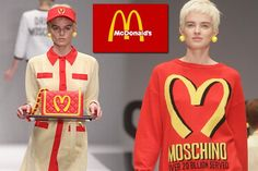 Fast food fashion: Karl Lagerfeld and Anya Hindmarch inspired to transform the Chanel runway into a giant supermarket aisle - Mirror Online
