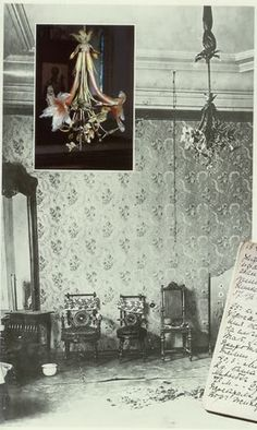 Grand Duchesses' bedroom, Ipatiev house photos (interior & exterior) the Lily chandelier was taken and brought to England by the Imperial English tutor Sydney Gibbes who became an Orthodox priest. He met with Anna Anderson and denied her claim to be his former pupil Anastasia.
