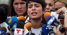 Patricia de Ceballos, alcaldesa de San Cristóbal, estado Táchira, y esposa de…