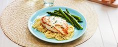 Dressed Chicken Breasts with Angel Hair Pasta Recipe | Hidden Valley® (use 1 cup bottled ranch, 10 oz angel hair in recipe at home; no parsley)