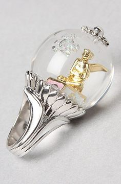Disney Couture Jewelry The Icon Collection Tinkerbell Ring,Jewelry for Women:
