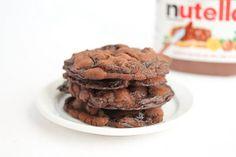 Nutella Cookie Crisps   Kirbie's Cravings   A San Diego food blog