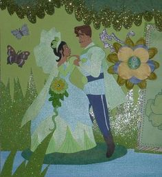 2 page Princess and the Frog Layout