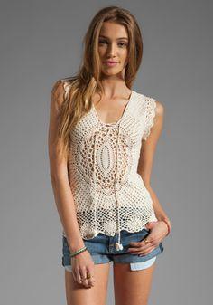 Outstanding Crochet: Crochet Top from Lisa Maree.