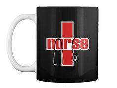 Nursing Hoodie Over 150+ Sold Black Mug Front
