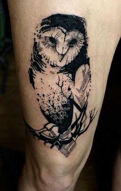 Die mystische Welt der Eulen-Tattoos                              …